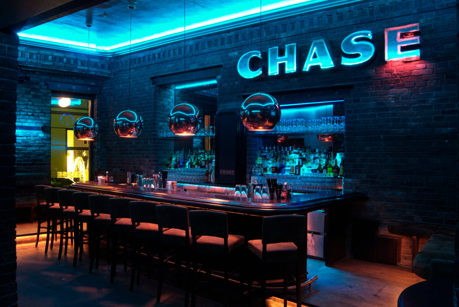 Eventlocation Chase Bar